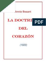 Annie Besant La Doctrina Del Corazon