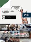 2013 best digital campaigns