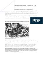 History of Death Penalty