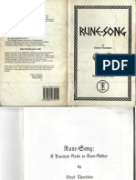 Rune Song by Yrmin Drighten of Rune Gild Edred Thorsson