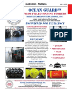 Ocean Guard Foam Filled Fenders and Buoys