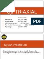 Uji Triaxial Kelompok 9
