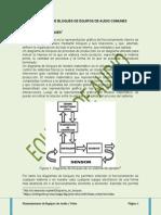 Diagramas de Bloques de Equipos de Audio Comunes