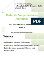 Aula10 - Introducao Ao Ethernet