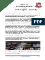 Report on Virtual Baja Saeindia