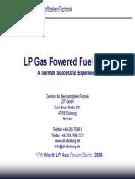 Lpg Fuelcells