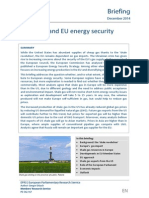 Sale gas and EU energy security