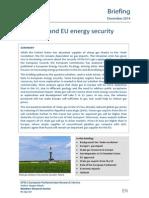 Sale gas and EU energy security