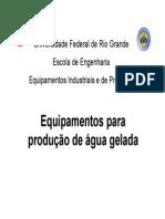 Equip. produção de água gelada.pdf