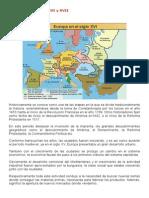 Europa en Los Siglos XVI y XVII