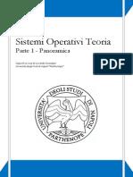 1. Sistemi Operativi Teoria - Panoramica