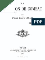 abbé Joseph Lemann - La Religion de Combat