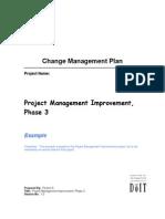 Change Management Plan, V2.0