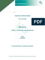 Introducción a Las Biomoléculas