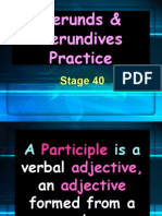 stage 40 gerunds   gerundives practice