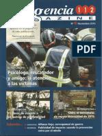 Revista de Emergencias 112