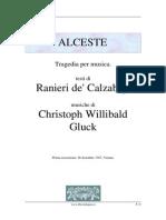 Gluck > Alceste