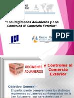 Regimenes Aduaneros y Los Controles Al Cext