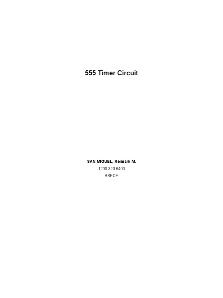 555 Timer Circuit Electronic Circuits Electrical Equipment Simple Touch Switch Using Ic