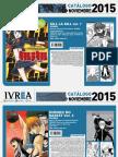 Proximas Novedades Ivrea - Noviembre 2015