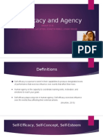 final self efficacy and agency