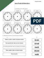 Prueba Reloj-Calendario