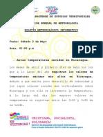 Boletin Temperaturas Maximas_03 de Mayo
