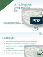 Módulo 1.3. Lámparas_aplicaciones y Modelos Comerciales