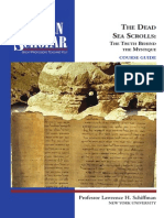The Dead Sea Scrolls - The Truth Behind the Mystique (Booklet)
