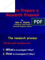 Abla How to Prepare a Proposal