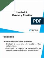 Caudal y Presion hidraulica