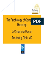 Psychology of Compulsive Hoarding - Dr Christopher Mogan