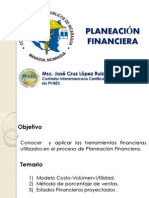 Planeacion Financiera Msc Jose Cruz Lopez