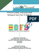 Proposal BOF 9