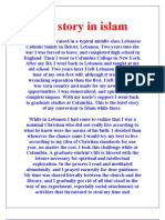 My story in islam