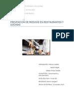Prevencion de Riesgos en Restaurantes y Cocinas