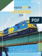 Pesquisa CNT de Ferrovias 2011