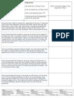 dilemma responses claimreasoning worksheet