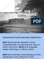 wuthering heights and the gothic