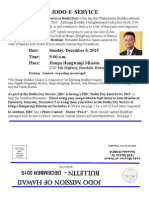 Jodo Mission of Hawaii Bulletin - December 2015