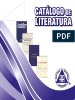 Catalogo de Literatura