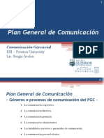 Plan General de Comunicación