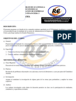Programas Administracion Financiera i