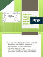 Método Verde Para La Sustitución Electrofílica Aromática2