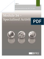 Module 34 Specialised Activities Version 2013