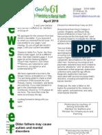 Group61 April Newsletter 2010