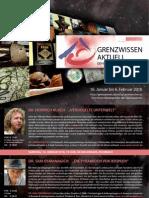 Folder GRENZWISSEN AKTUELL 2016