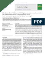 Applied Soil Ecology  (2010) 222–229