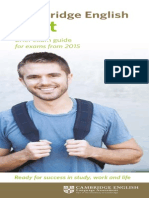 Fce Brief Exam Guide 2014 Document