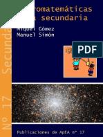 17 Astromatematicas para secundaria.pdf